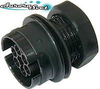Подвесной разъемный мини соединитель вилка IP68.  Резьба отверстия М28. 2-3-4-5-6 полюсов., фото 1