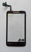 Сенсор Lenovo A316 чорний