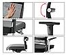 Кресло офисное низкое Lordo DAUPHIN Германия, фото 5