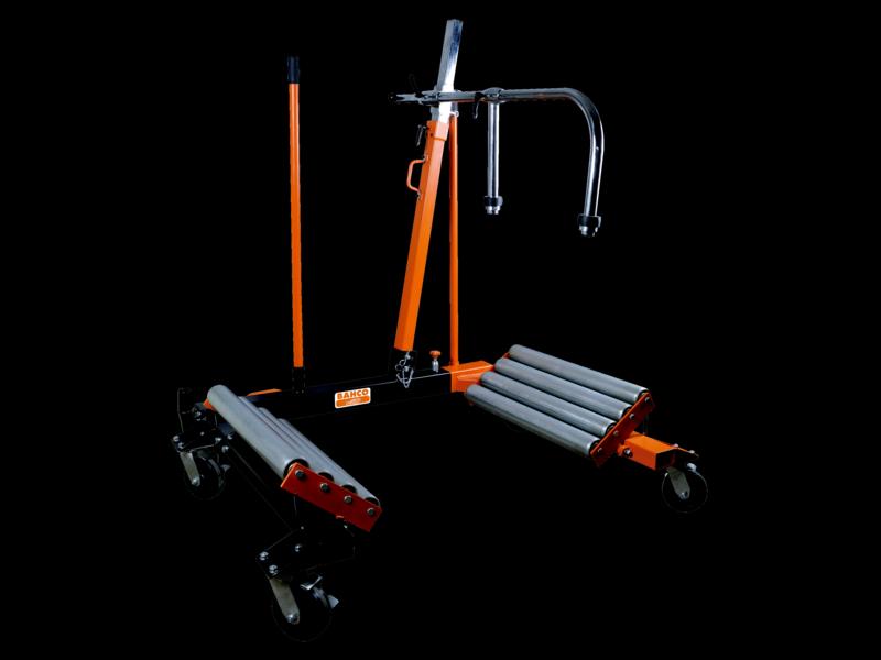 Домкрат-тележка для снятия/установки колес 1500кг, BAHCO, BH8AC3-1500