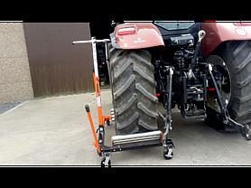Домкрат-тележка для снятия/установки колес 1500кг, BAHCO, BH8AC3-1500, фото 3