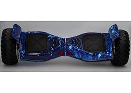 """Гироборд крутой популярный гироскутер Smart Balance колеса 8,5"""" Hummer Небо (синий космос)"""