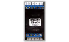 KZ-W26 Преобразователь интерфейса ISO-7811 в Wiegand26