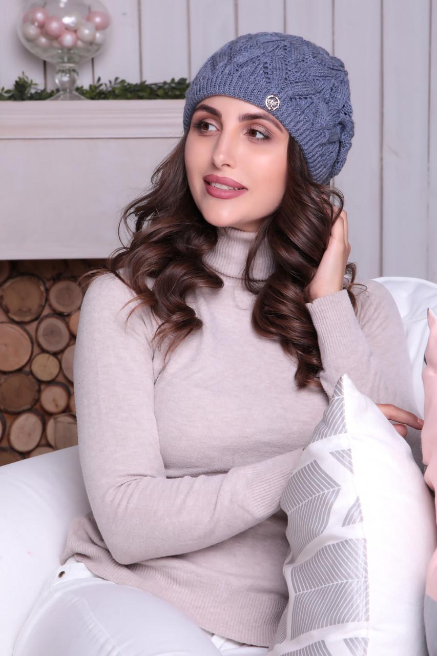 Женская шапка - берет «Дэйзи»