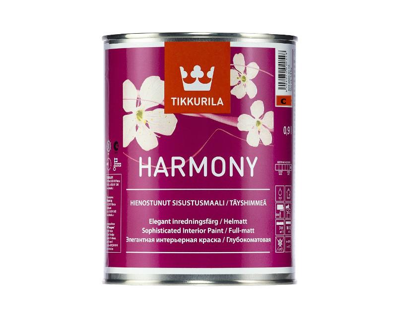 Краска акриловая Harmony Tikkurila интерьерная база С 0,9л