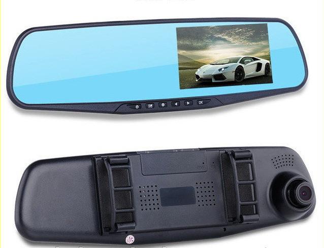Автомобильный видеорегистратор - зеркало DVR 138E