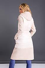Пальто в сочетании с капюшоном , фото 3