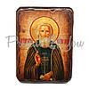 Деревянная икона Святого Сергия Радонежского, 17х13 см (814-1026), фото 2