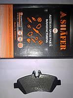 Копия Тормозные колодки задние  Volkswagen Crafter (0044206920, 2E0698451, A0044206920)