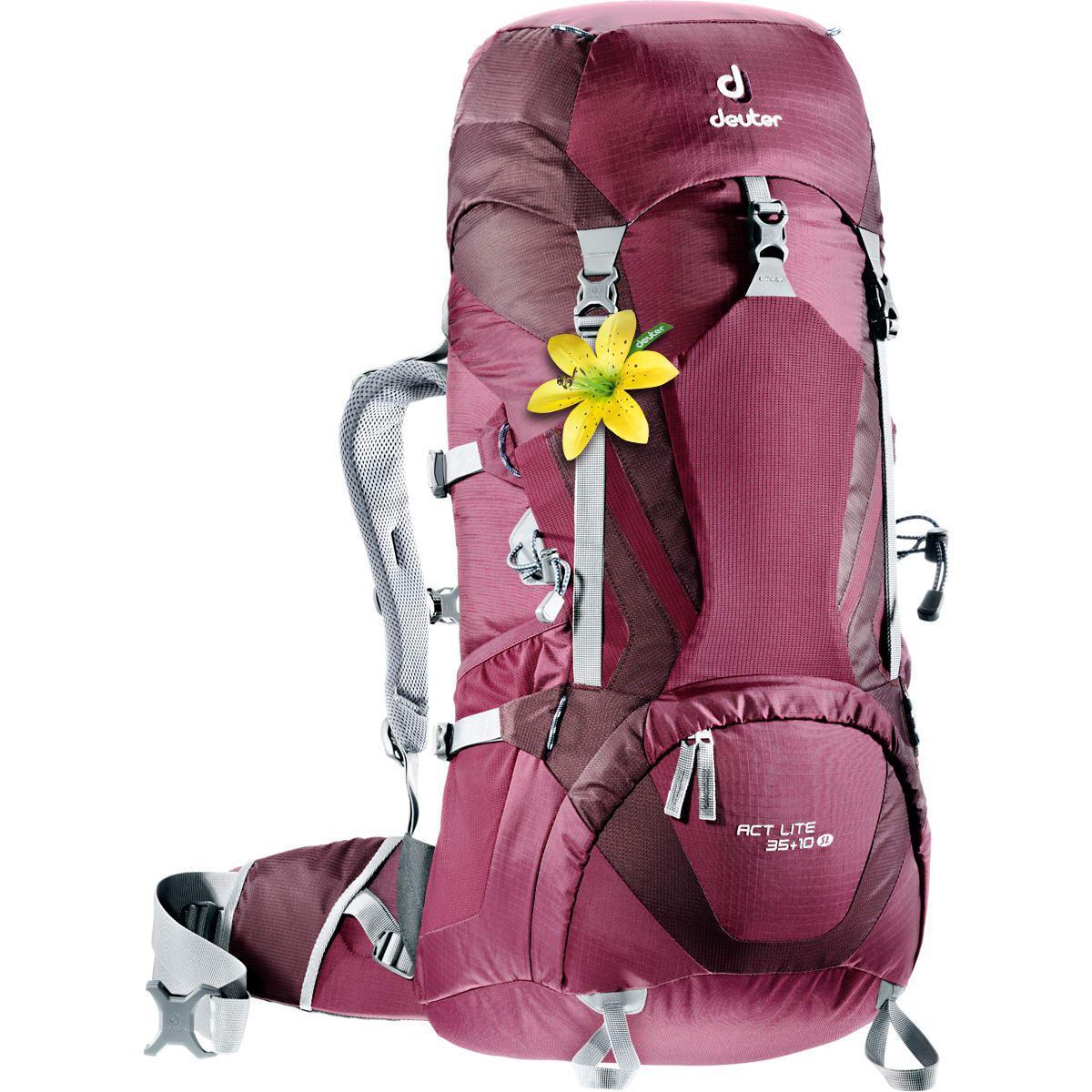 Треккинговый рюкзак для женщин Deuter ACT Lite 35+10 SL blackberry-aubergine (3340015 5530)