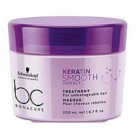 Маска для гладкості волосся Schwarzkopf BC Bonacure Smooth Perfect Treatment 200 мл