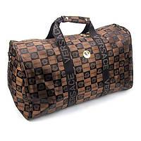 Сумка дорожная текстильная женская Versace, фото 1