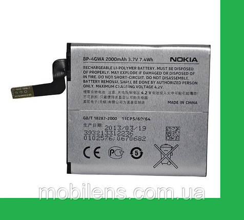 Nokia 625 Lumia, BP-4GWA, RM-943, RM-941, 720 Lumia Аккумулятор , фото 2