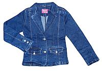 Джинсовая куртка для девочек, Венгрия, S&D, арт. KK-511, 158-164