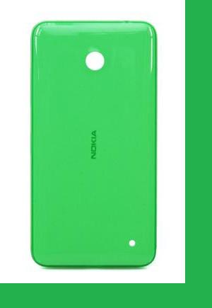 Nokia 630 Lumia Задняя крышка зеленая