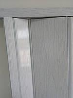Двери гармошка глухая межкомнатная нестандарт. Нестандартные размеры. Ширина 110см. Доставка