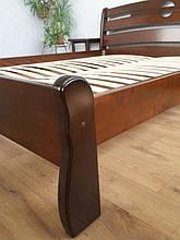 """Кровать """"Каприз"""" (200*160), массив дерева - ольха, покрытие - """"итальянский орех"""" (№ 462). 8"""