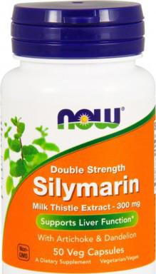 NOW_Silymarin Milk Thistle 300 мг - 50 веган кап