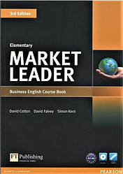 Market Leader (3rd Edition) Elementary Course Book + DVD-ROM
