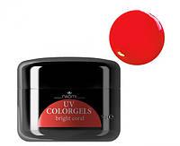 Цветной гель Uv Colorgel Naomi  Bright Coral 14 гр
