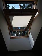 Специальные тканевые ролеты на масардные окна. с.Романков 4