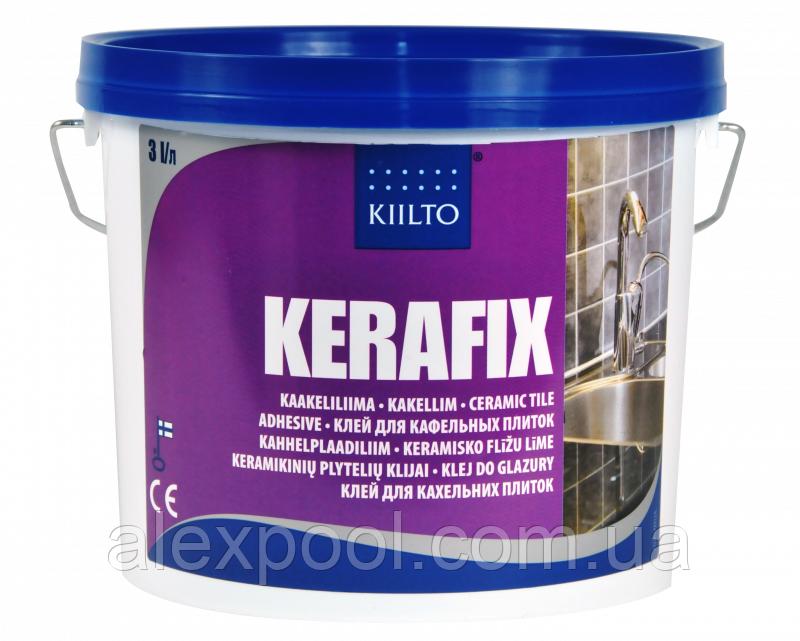 Kiilto Kerafix 3 літри (4,5 кг) - Клей для кахельної плитки