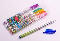 Набор ручек гелевых с блеском, 6 цветов, в ассортименте, фото 1
