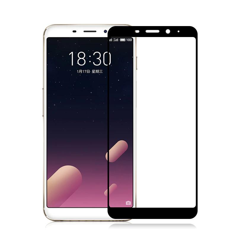 Защитное стекло Meizu M6s full cover black