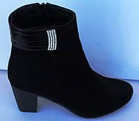 Ботинки женские на среднем каблуке от произдителя модель МВ20, фото 1