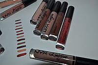 Жидкая матовая губная помада NYX Lip Lingerie