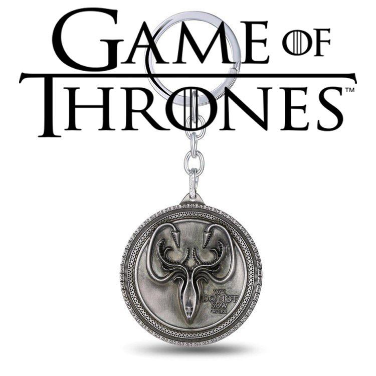 Брелок Герб Грейджоев Игра Престолов Game of Thrones