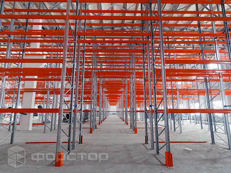 Паллетная стеллажная система для склада класса А