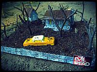 Діорама Зловісні Мерці, Evil Dead, диорама Зловещие мертвецы, фото 1