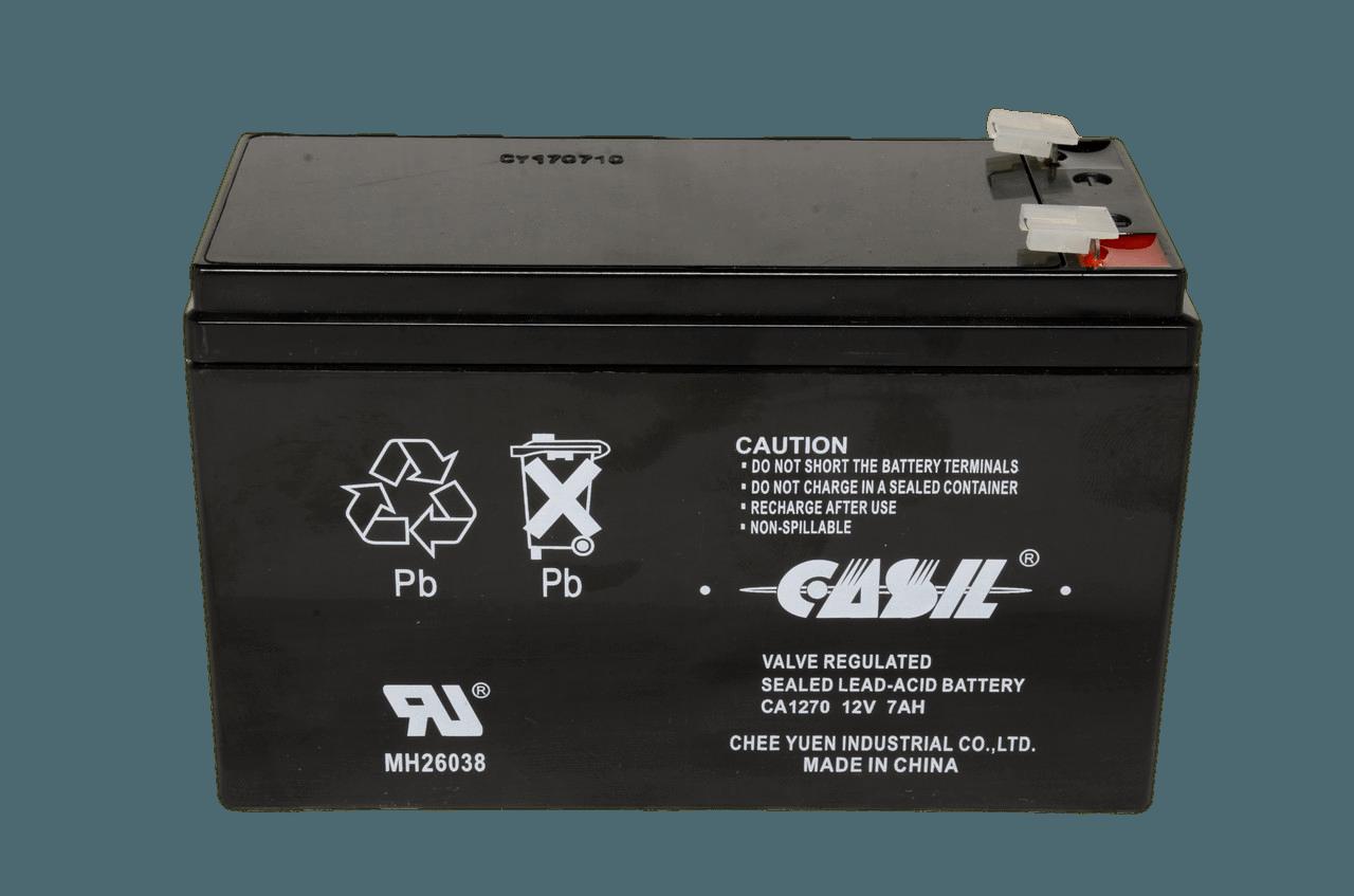 Свинцово-кислотный аккумулятор Casil CA1270  (12V,7Ah)
