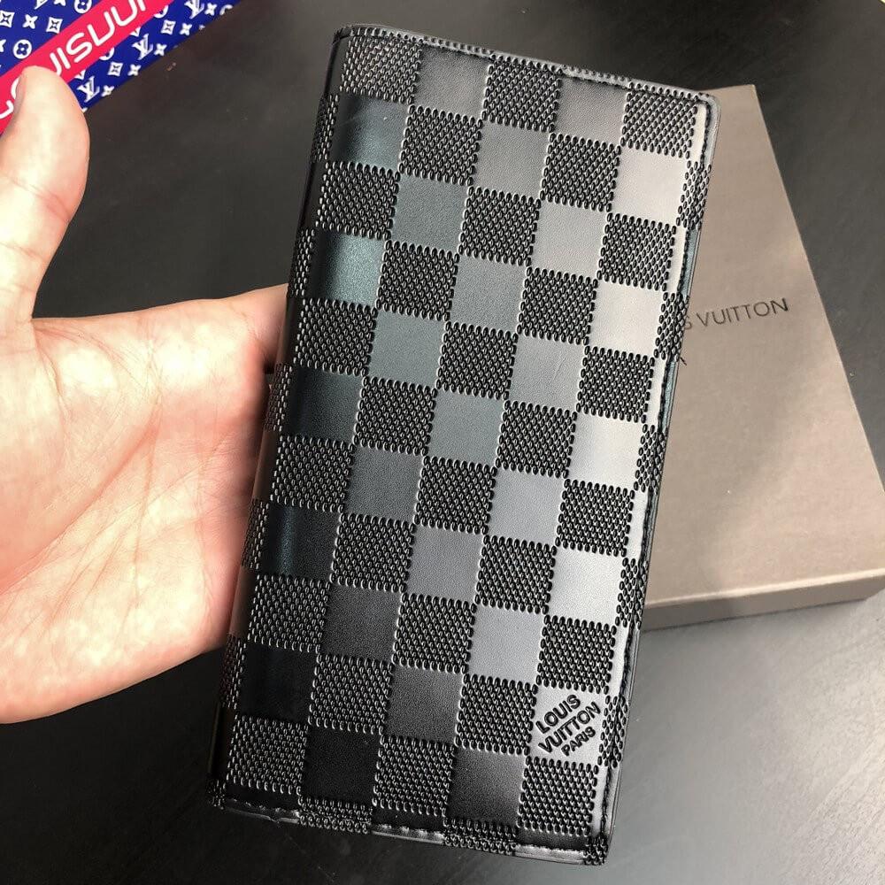 Кошелек в стиле Louis Vuitton Brazza Wallet Damier Infini - kipilon в Киеве 26108f190e1