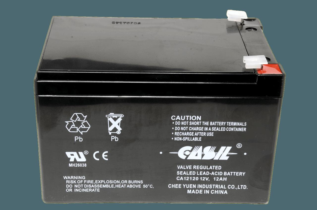 Свинцово-Кислотный аккумулятор Casil CA12120 (12V,12Ah),