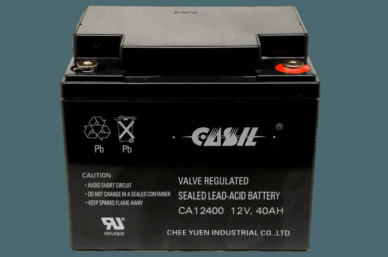 Свинцово-кислотный аккумулятор Casil CA12400