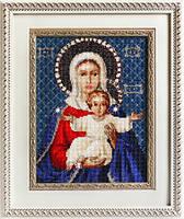Набор для вышивки крестом Luca-S BR115 «Леушинская Богоматерь»