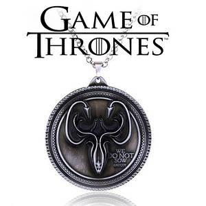 Брелок Герб Грейджоев Игра Престолов Game of Thrones кулон