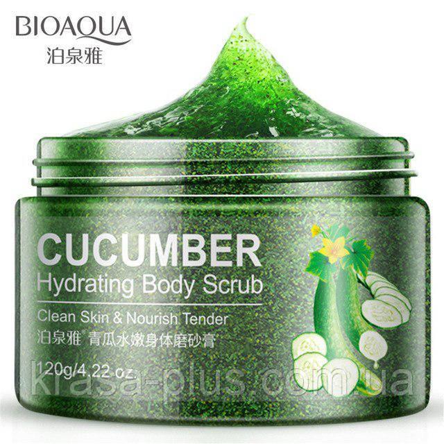 Скраб для тела с огурцом Bioaqua Cucumber Body Scrub