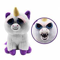 Feisty Pets — Интерактивная игрушка Злобные зверюшки Единорог, фото 1
