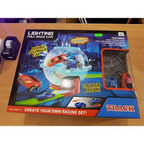 Автотрек track Lighting Pull Back Car 6688-230, фото 2