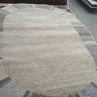 Ковёр Daffi окантовка из полос - серый 1.60х2.30 м., фото 1