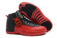 Кроссовки Баскетбольные Nike Air Jordan XII Retro Red Black