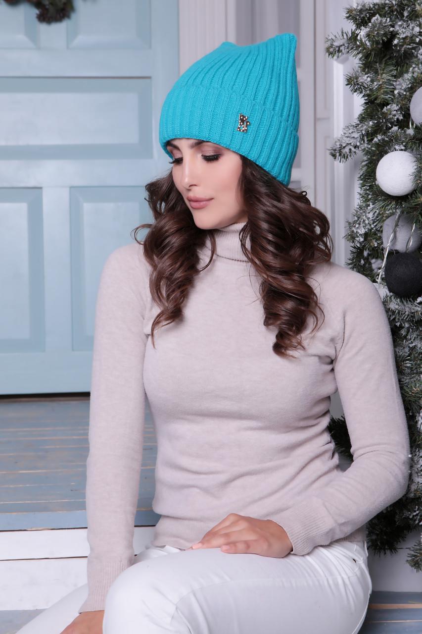 Женская шапка ушки «Молли»