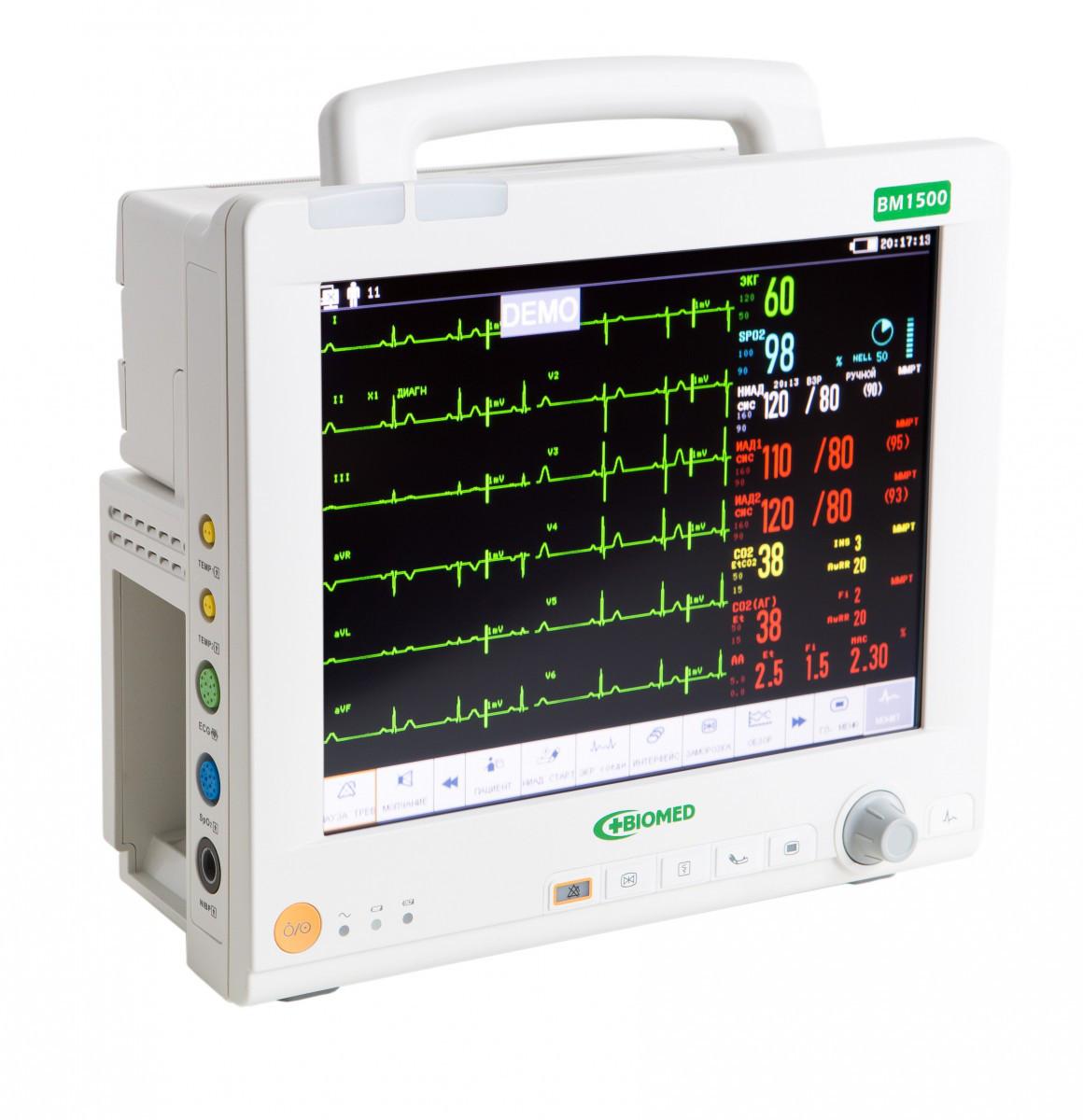 Спеціалізований модульний кардіомонітор BM1500