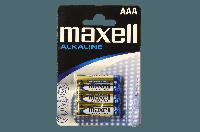 Батарейка Maxell LR-03 4 шт.х блистер