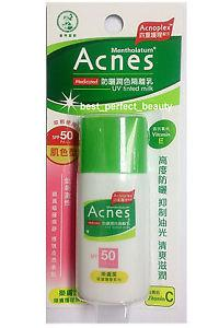 Mentholatum ACNES Medicated UV Tinted Milk SPF 50 PA++ 30g