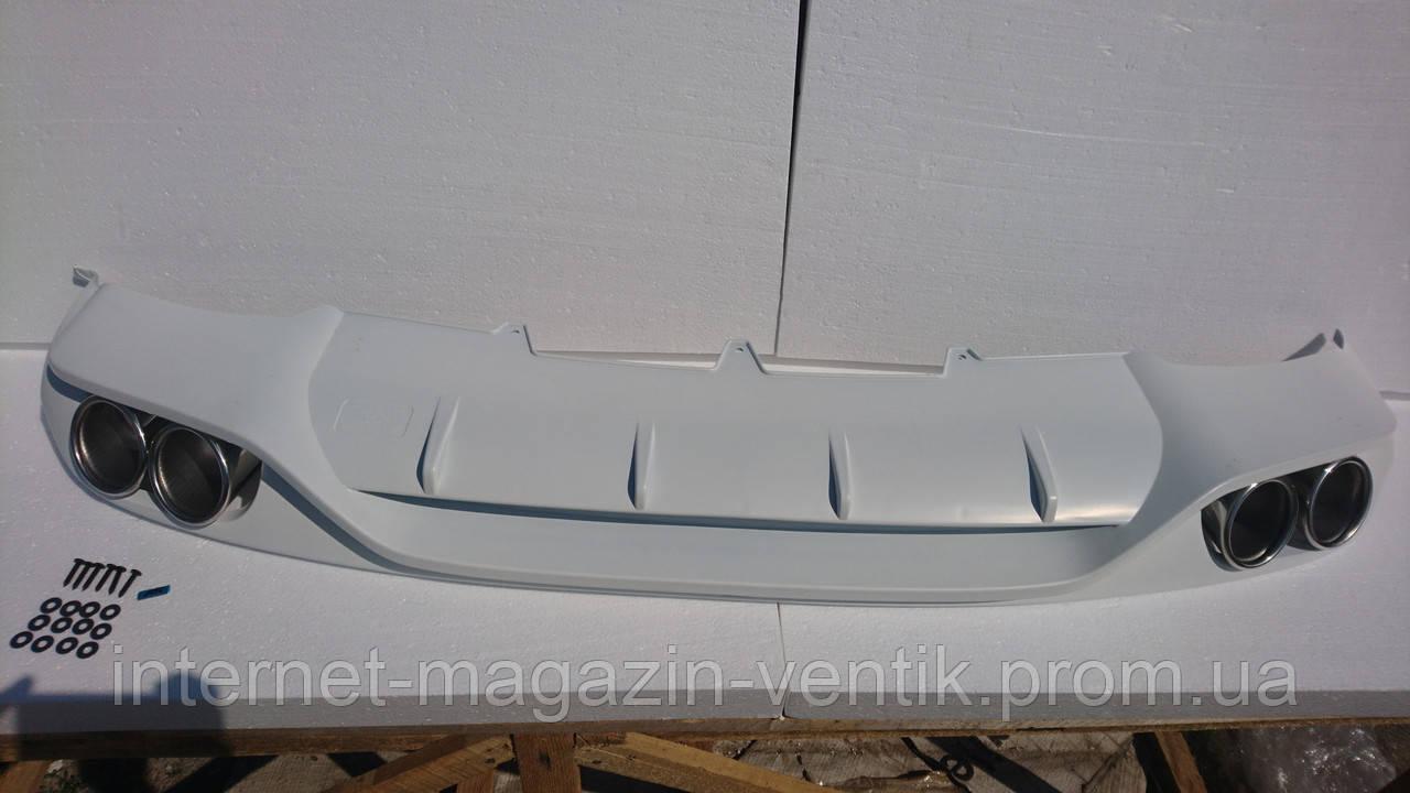 Диффузор Audi A4 ABT 2009-2012 B8
