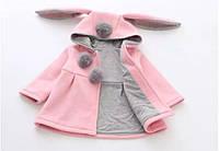 Пальто для девочки Зайка, фото 1